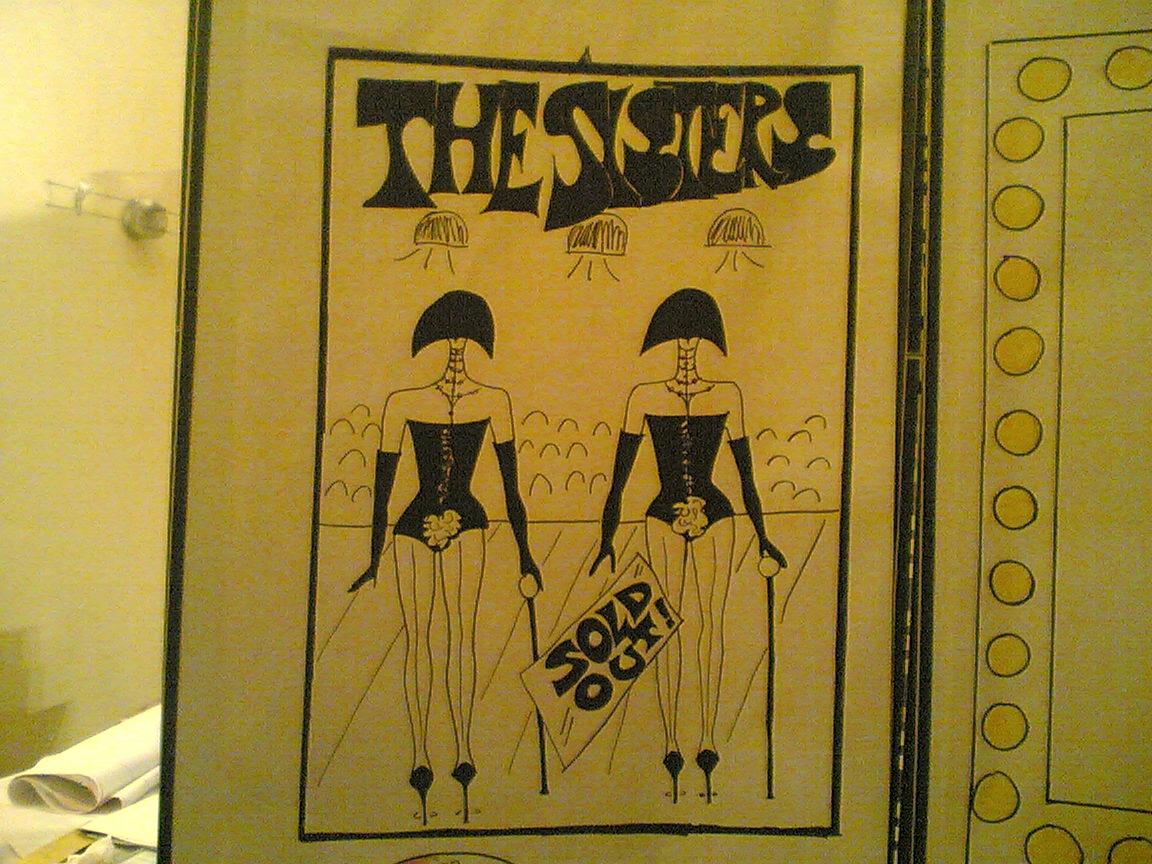 The Sisters …scenografia disegnata da…me!